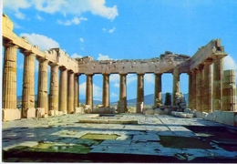 Athens - Interieur Du Parthenon - 7 - Formato Grande Non Viaggiata – E1 - Grecia