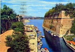 Corfu - Il Vecchiocastello Contrafossa - 74 - Formato Grande Viaggiata – E1 - Grecia