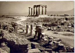 Corinth - Temple Of Apollo - 1104 - Formato Grande Non Viaggiata – E1 - Grecia