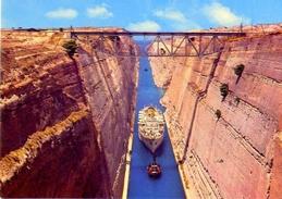 Corinto - Il Canale - 397 -formato Grande Non Viaggiata – E1 - Grecia