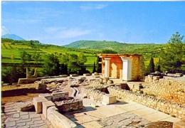 Crete - Palais De Cnossos - Formato Grande Viaggiata – E1 - Grecia