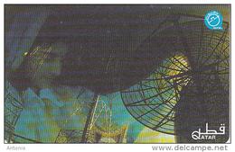 QATAR - Satellite Aerial/Girl, Used