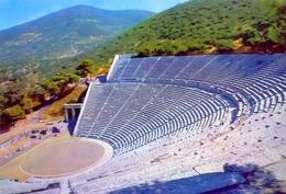 Epidaurus - Das Theater - 87 - Formato Grande Non Viaggiata  – E1 - Grecia