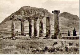 Korinth - Apollo Tempel Und Akrokorinth - 308 - Formato Grande Non Viaggiata – E1 - Grecia