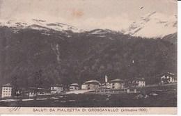 L393 SALUTI DA PIALPETTA DI GROSCAVALLO - Non Classificati