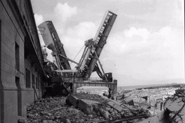 WW2 - Photo-carte - Bataille De Normandie - Passerelles D'embarquement Dévastées Sur Le Quai De France à Cherbourg - 1939-45