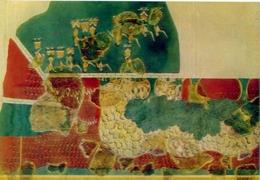 Museo Di Heraclion - Un Affresco Di Cnossos - 1349 - Formato Grande Non Viaggiata – E1 - Grecia