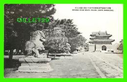 SHENYAND, LIANING, CHINE - IMPOSING STONE BEATS, PEILING NORTH MANSOLEUM  (MUKDEN) - - Chine