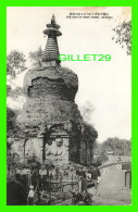 SHENYAND, LIANING, CHINE - THE VIEW OF WEST TOWER  (MUKDEN) -  ANIMATED - - Chine