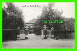 SHENYAND, LIANING, CHINE - JAPANESE CONSULATE-GENERAL  (MUKDEN) - - Chine