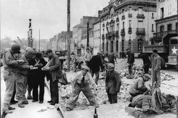 WW2 - Photo-carte - Bataille De Normandie - Réparation De La Voirie à Cherbourg - 1939-45