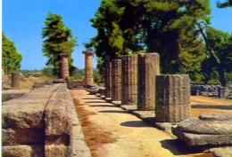 Olympia - Temple Di Hera - 608 - Formato Grande Non Viaggiata – E1 - Grecia