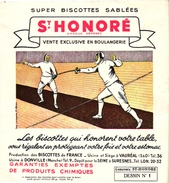 1Blotter Buvard 7 Trade Cards  FENCING ESCRIME FECHTEN  Pub Chocolates Jaime Boix Barcelona Olympia 1936 &1932 - Fencing