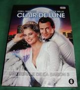 Dvd Zone 2 Clair De Lune Saisons 3 Moonlighting 1986  Vf+Vostfr - Serie E Programmi TV