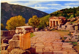The Treasury Of The Athenians - 4 - Formato Grande Non Viaggiata – E1 - Grecia