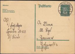 Germany  Deutsches Reich Löhne (Westf.) Bahnhof 25. 6. 1928 / Postal Stationery, Ganzsache - Deutschland