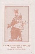 B.V. Del Sacratissimo Rosario - Santini