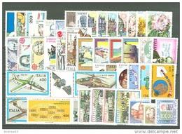 ITALIA REPUBBLICA - 1983 - Annata Completa - 46 Valori - Complete Year - ** MNH/VF - Full Years