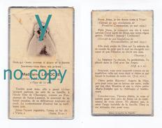 La Clayette Ou Environs, Mémento De Madeleine Laroche, 10/01/1936, 12 Ans, Souvenir Mortuaire à Localiser - Santini