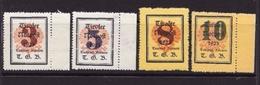 1923  AUSTRIA -Tiroler Notpost - N. ?  Nuovi ** - Emissione Privata - Serie Completa - Cat.? € - Lotto 655 - Probe- Und Nachdrucke
