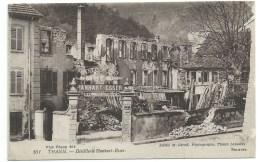 CPA / THANN DISTILLERIE HANHART ESSER APRES BOMBARDEMENT  / 1919 - Thann