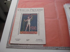 Olympic Games  Xth Olympiad  LOS ANGELES U.S.A.- Offical Program, Lots Of Fotographs, Jeux Olympiques - Programs