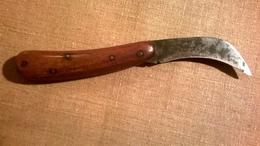 Ancien Couteau De Vigneron - Serpette - Véritable BERNARD 76 LIVRAISON GRATUITE - Messen