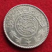 Arabia Saudi 1/2 Rial 1955 1374 - Arabie Saoudite