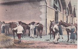 CPA Les Plaisirs De La Caserne - Le Pansage - WW1 (27816) - Guerre 1914-18