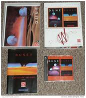Retrogaming Retro Gaming Rare Ancien Coffret 2 Jeux De PC Virgin, DUNE 1 & 2 II En Boite, Notice Battle For Arrakis, Box - Jeux PC