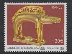 2007 - TIMBRE NEUF - Sanglier-enseigne Gaulois (Musée Archéologique De Soulac-sur-Mer En Gironde) - N° YT : 4060 - France