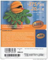 AUSTRIA - Klax Max Prepaid Card 275.20 ATS/20 Euro, Exp.date 03/06, Used