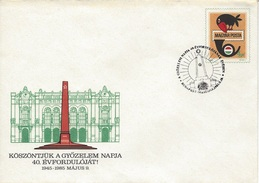 HUNGARY - 1985.Postal Stationery Envelope - 40th Anniversary Of The V-Day / 1945-1985 9th Of May - 2. Weltkrieg