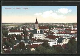 CPA Tartu / Dorpat, Vue Générale - Estland
