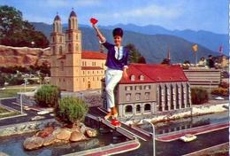 Swissminiatur - Melide Lugano - Zurich - La Cathedrale - Formato Grande Non Viaggiata – E1 - ZH Zurich