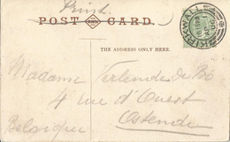_5pk-210: N° 106a: KIRKWALL AP 1 06  / The Sheriff, Fair Isle > Ostende - Print Ipc POST CARD - 1902-1951 (Re)
