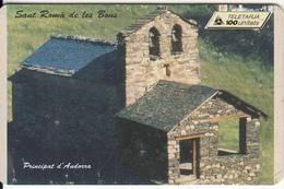 ANDORRA(chip) - Sant Roma De Les Bons, Tirage 20000, 07/97, Used - Landschappen