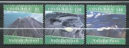 Costa Rica 2004 Volcanoes.Geology.MNH - Costa Rica