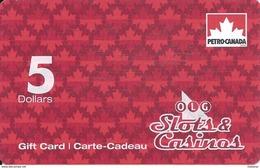 OLG Slots & Casinos Canada - $5 Gift Card (No Actual Cash Value)