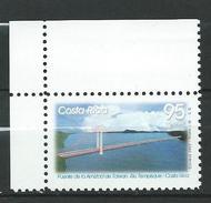 Costa Rica 2002 Inauguration Of Bridge Over River Tempisque.MNH - Costa Rica