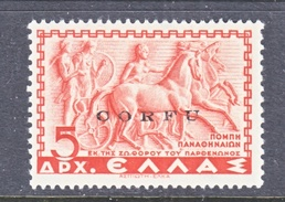 ITALIAN  OCCUP.  GREECE  ( CORFU )  N 26  ** - 9. WW II Occupation (Italian)