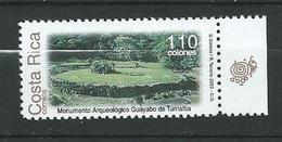 COSTA RICA 2003 Guayabo De Turrialba Archaeological Site.MNH - Costa Rica