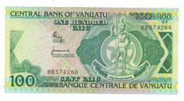 Vanuatu 100 Vatu, Pick 1,  Unc .   Free Ship. To USA. - Vanuatu
