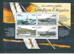 Bloc N°11  De St Pierre Et Miquelon De 2006  Neufs ** - Hojas Y Bloques