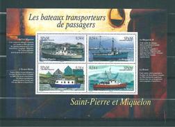 Bloc N°12  De St Pierre Et Miquelon De 2007  Neufs ** - Hojas Y Bloques