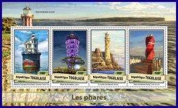 TOGO 2017 ** Lighthouses Leuchttürme Phares M/S - OFFICIAL ISSUE - DH1710 - Faros