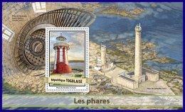 TOGO 2017 ** Lighthouses Leuchttürme Phares S/S - OFFICIAL ISSUE - DH1710 - Faros