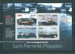 Bloc N°10  De St Pierre Et Miquelon De 2004  Neufs ** - Hojas Y Bloques