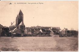 OUISTREHAM-VUE GENERALE ET L'EGLISE - Ouistreham