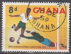 GHANA     SCOTT NO.  64    USED      YEAR  1959 - Ghana (1957-...)
